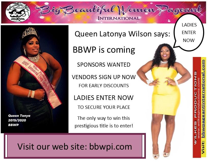 Big Beautiful Women Pageant Coming In 2022